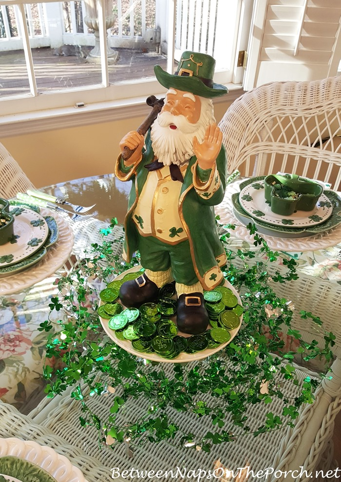Leprechaun for St. Patrick's Day Decorations