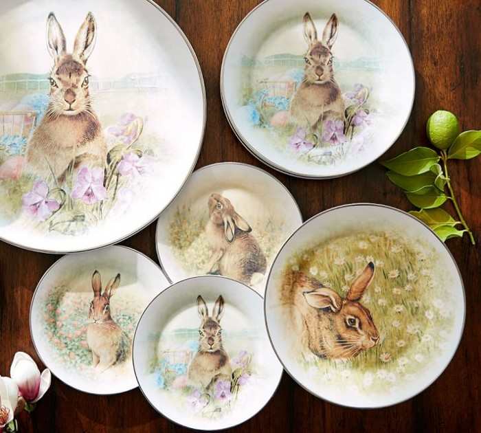 Meadown Bunny Dishes on sale
