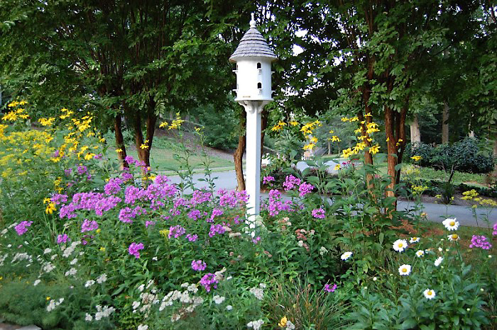 Lazy Hill Farm Dovecote in Garden