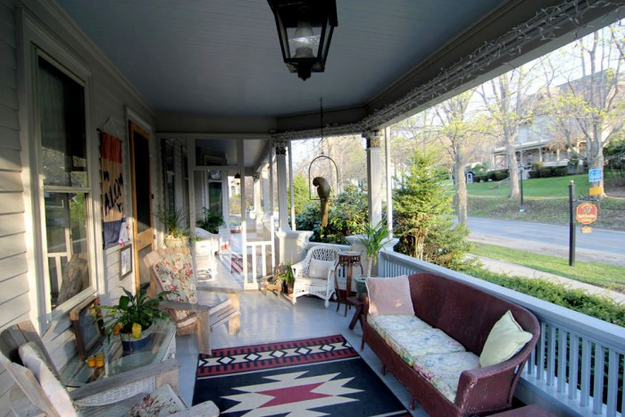 Porch, Queen Anne Victorian Home