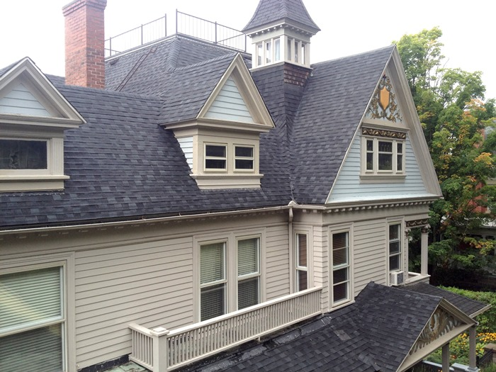 Queen Anne Victorian Home Details