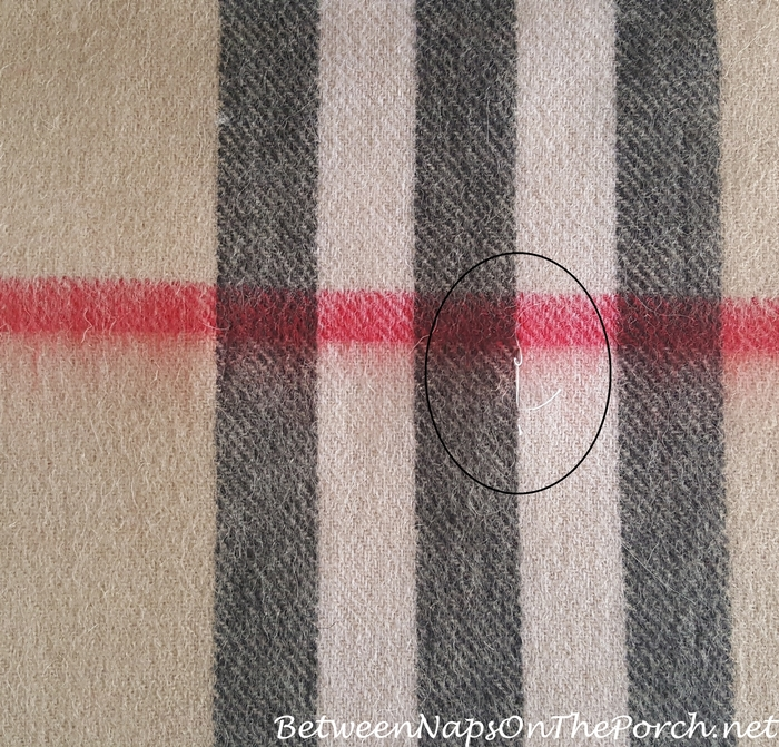 Signs of Fake Burberry Scarf