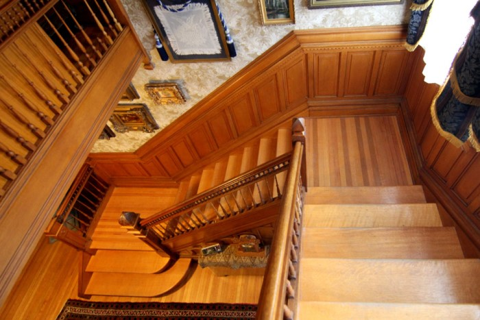 Staircase Victorian Home