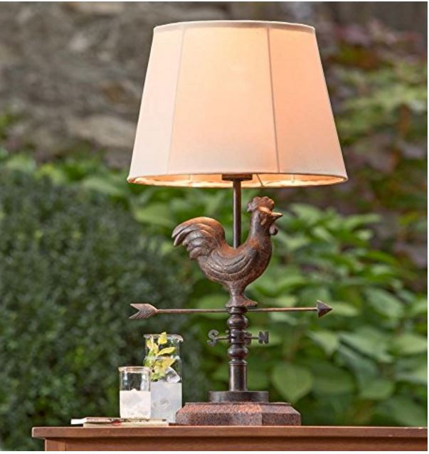 Weathervane Outdoor Lamp