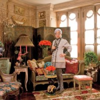 Iris Apfel's Textile Rich New York Apartment and Spring Fever Shopping
