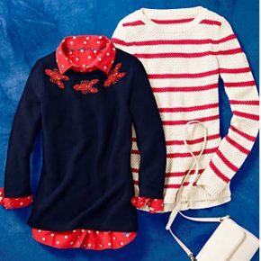 Beaded Lobster Sweater