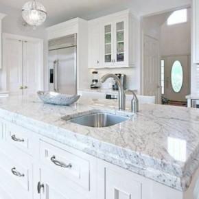 Bianco Romano Granite, Similar Look To Carrara Marble