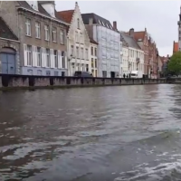 A Canal Ride in Bruges, Belgium