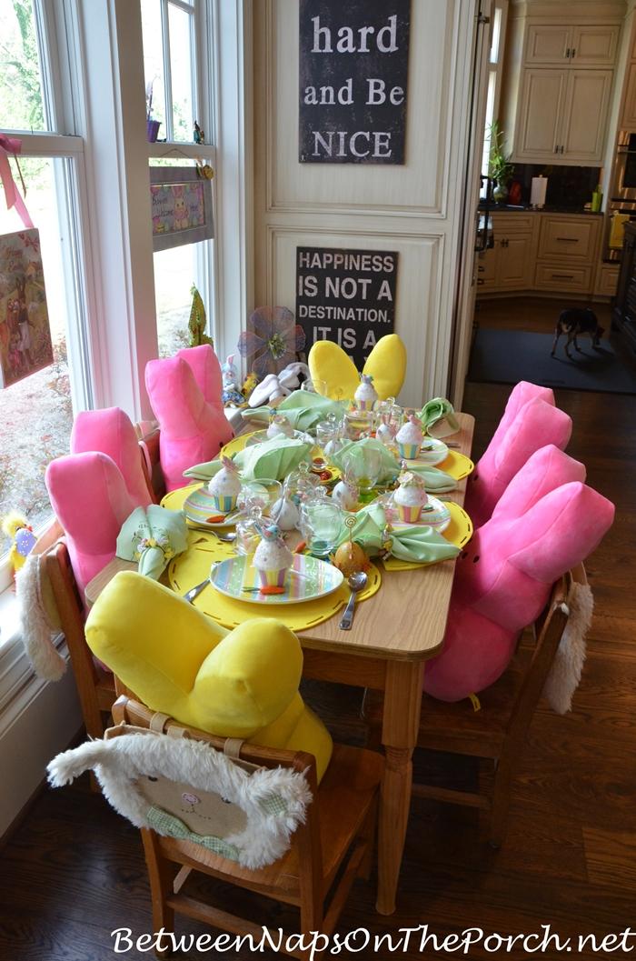 Children's Easter Table Setting 1