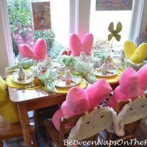 Children's Easter Table Setting 2
