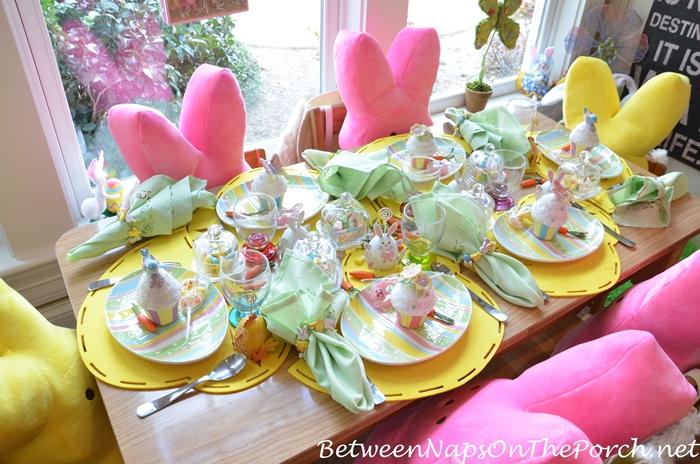 Children's Easter Table Setting 3