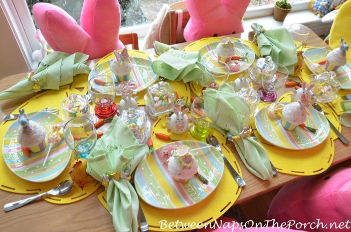 Children's Easter Table Setting 4