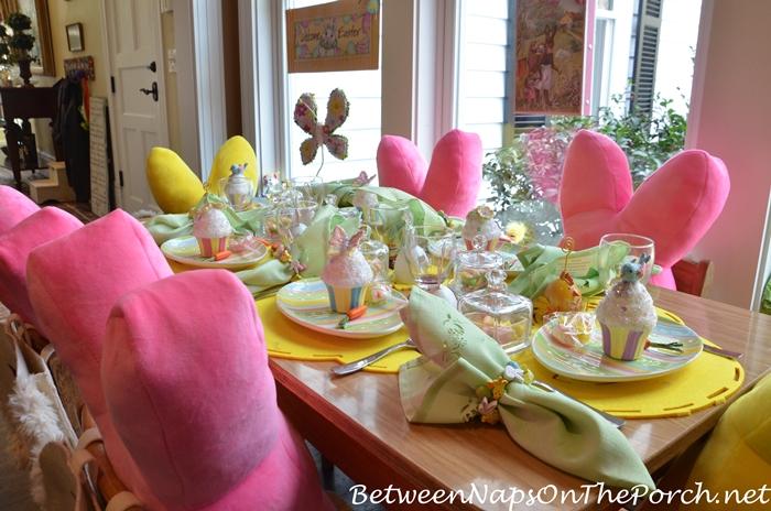 Children's Easter Table Setting 5