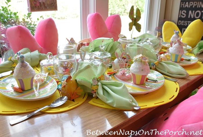 Children's Easter Table Setting 6