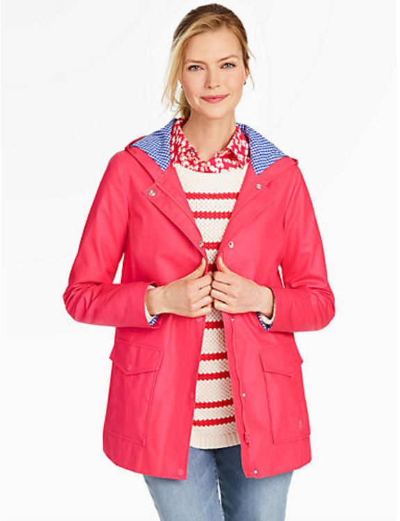 Colorful Raincoat for Spring