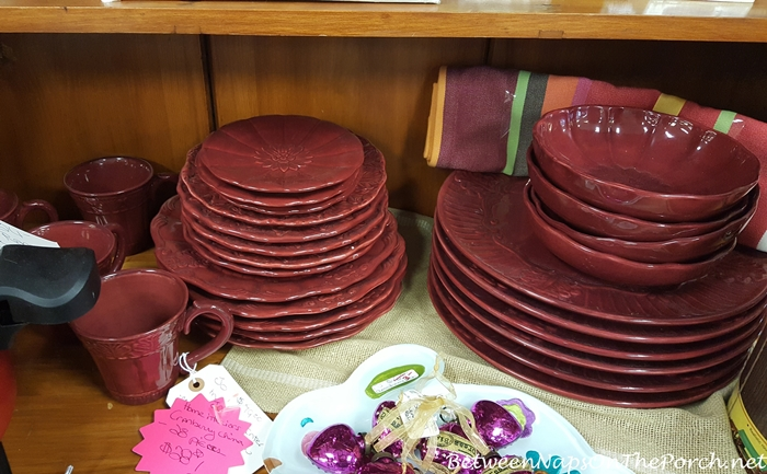 Cranberry Red China