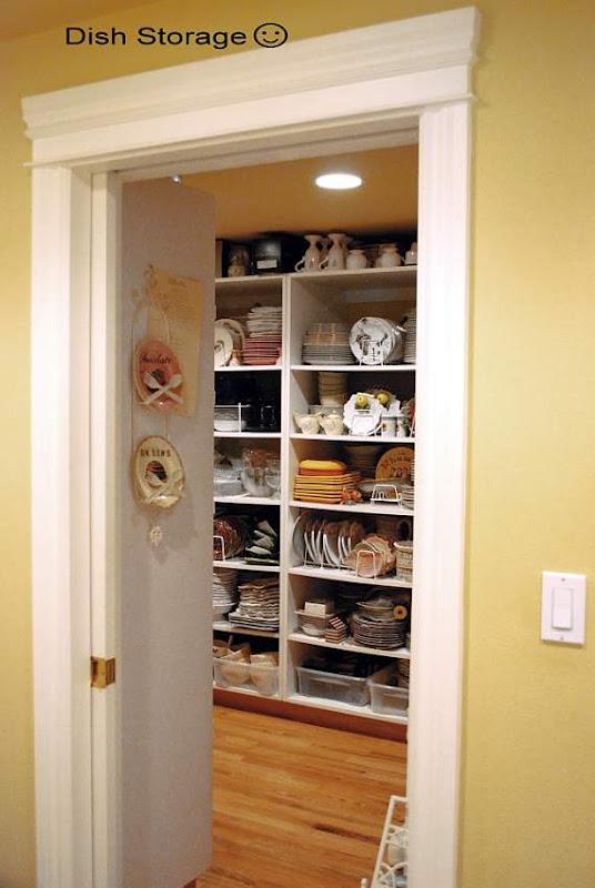 Dish Pantry Storage