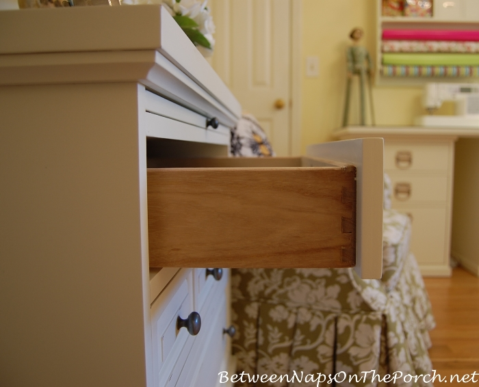 Dovetailed Drawers on Ashworth Chest_wm