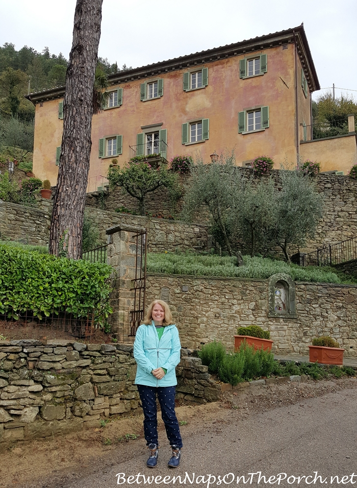 Frances Mayes Beautiful Villa, Cortona