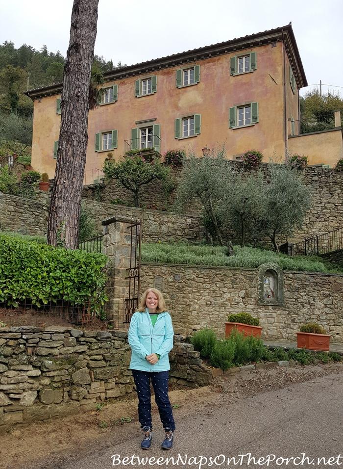 Frances Mayes Beautiful Villa, Cortona