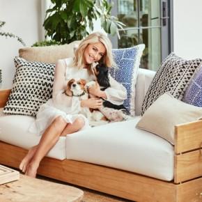 Julianne Hough at Home