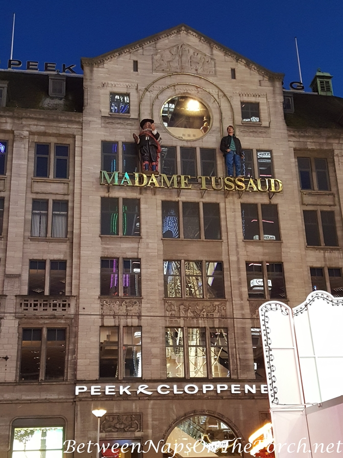 Madame Tussard in Amsterdam