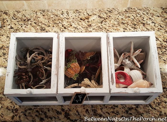 Napkin Ring Storage Ideas