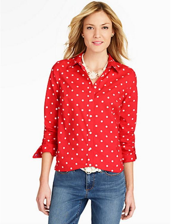 Red Polka Dot Shirt