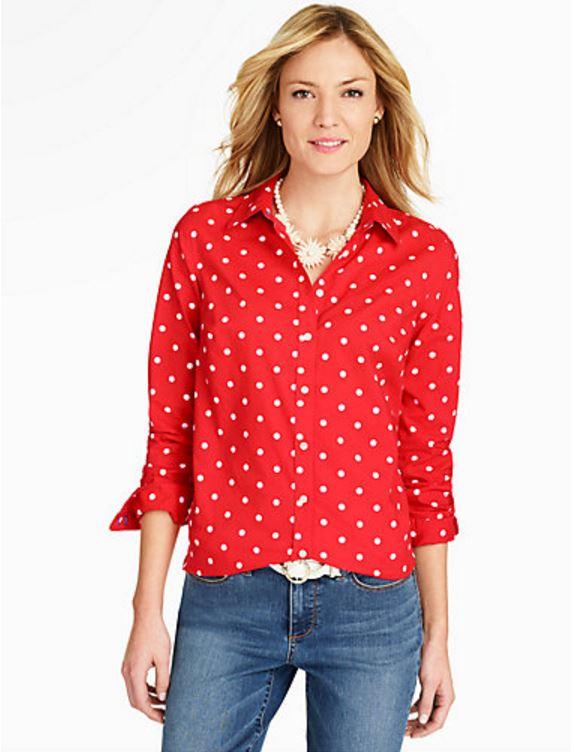 Red Polka Dot Shirt