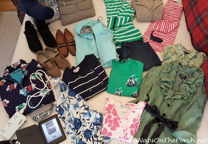 Some Clothes for Holland & Belgium Travel in Spring