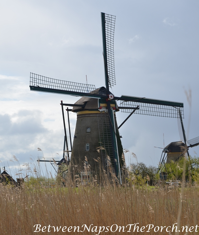 Windmill, Kinderdijk_wm