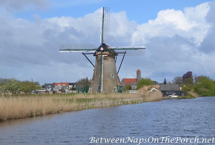 Windmill in Kinderdijk