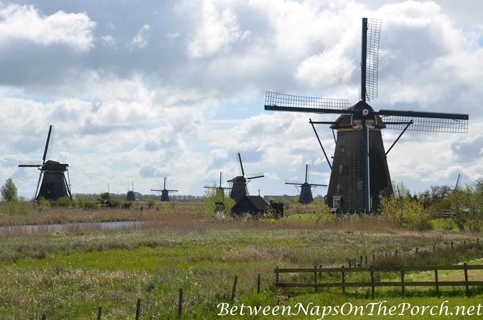 Windmills in Kinderdijk_wm