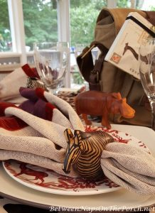 African Safari Animal Napkin Rings