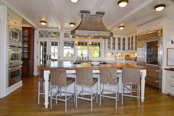 Beach Home with beadboard ceiling, Fenwick, Old Saybrook