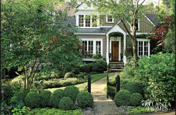 Boxwood Shrubs in the Landscape