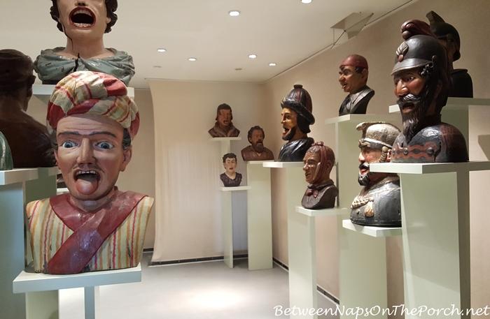 Gapers, Yawners, Zuiderzee Museum, Enkhuizen, Holland, Netherlands