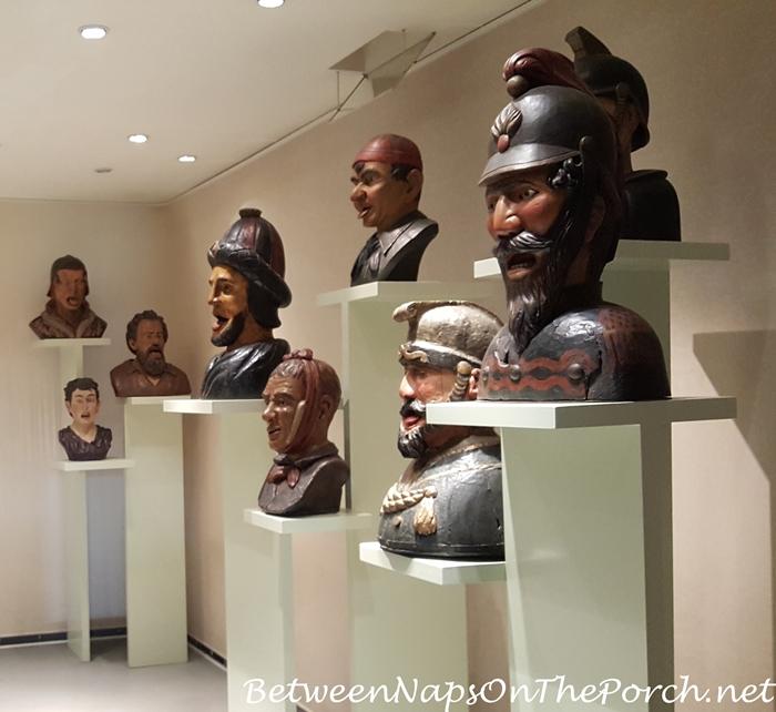 Gapers & Yawners, Zuiderzee Museum Pharmacy, Enkhuizen, Holland