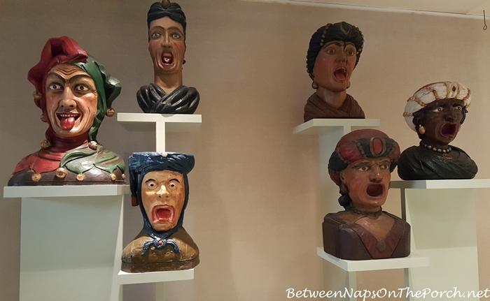 Gapers & Yawners, Zuiderzee Museum, Pharmacy, Enkhuizen, Netherlands