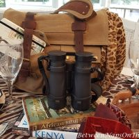 On Safari: An African Safari-Themed Tablescape