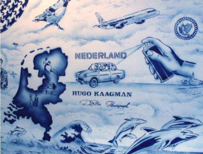 Hugo Kaagman Delft Art