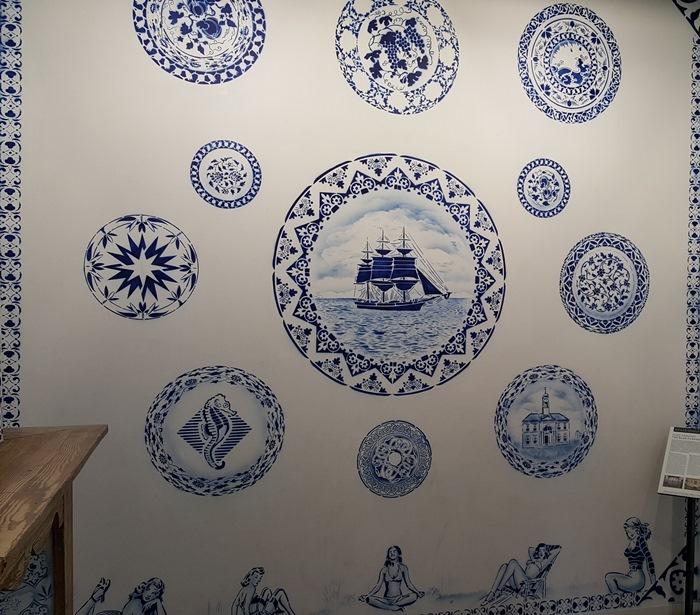 Hugo Kaagman Delft Blue Art, Enkhuizen