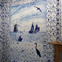 Decorating and Dressing in Blue & White