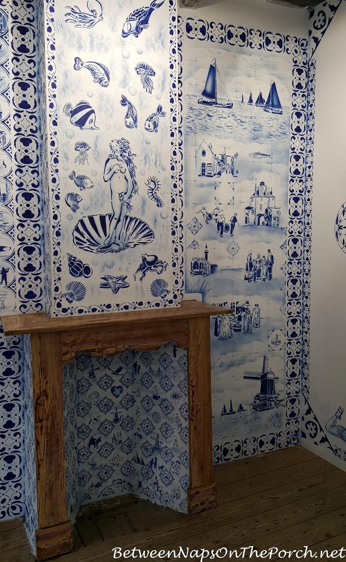 Hugo Kaagman Delfware Designs Art, Zuiderzee Museum, Enkhuizen 04