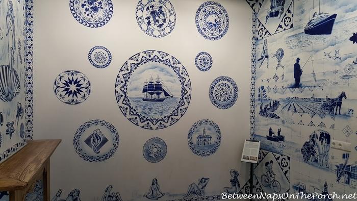 Hugo Kaagman Delfware Designs Art, Zuiderzee Museum, Enkhuizen 05