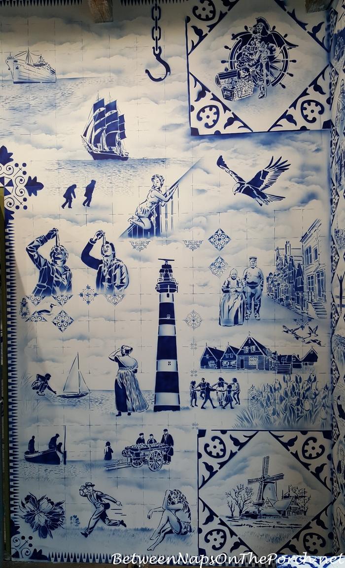 Hugo Kaagman Delfware Designs Art, Zuiderzee Museum, Enkhuizen 06
