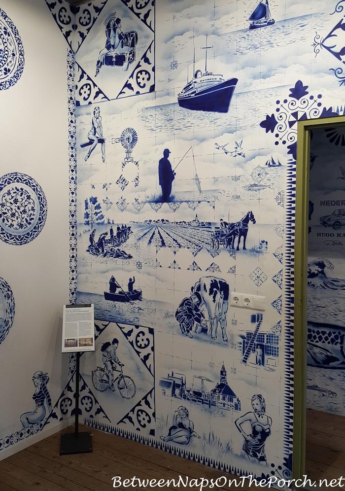 Hugo Kaagman Delfware Designs Art, Zuiderzee Museum, Enkhuizen 07