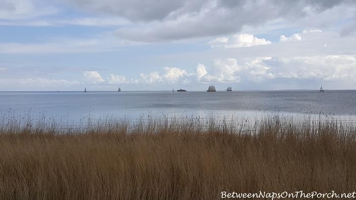 IJsselmeer with Sailboats