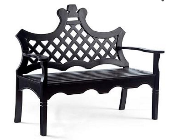 Luciana Wood Bench for Porch