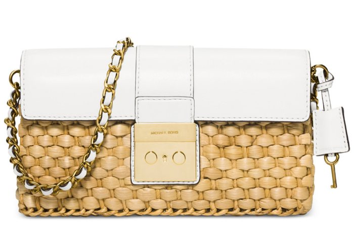 Michael Kors Straw Bag Purse